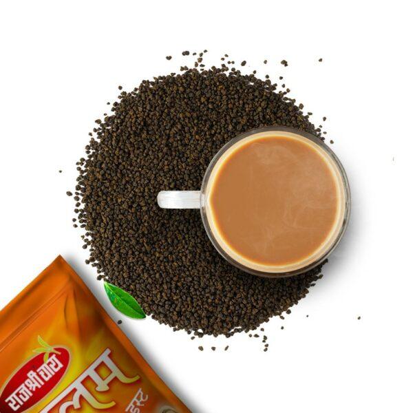 rajshree tea manglam with product